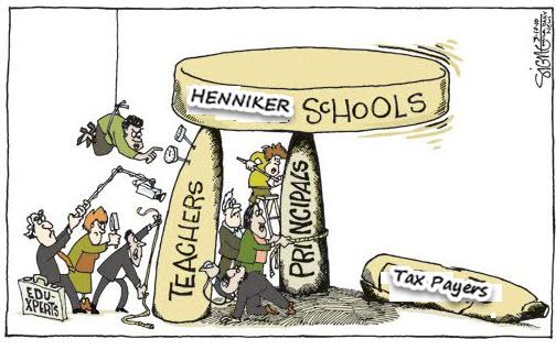HENNIKER BROKEN SCHOOLS