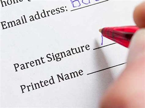 parental consent